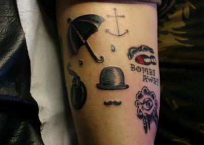 Wonderland.ink tattoo piercing trucco tatuaggi studio Bologna