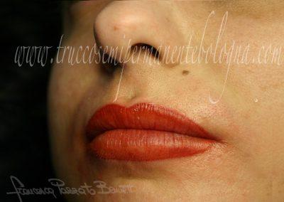 Trucco permanente Bologna labbra tatuate