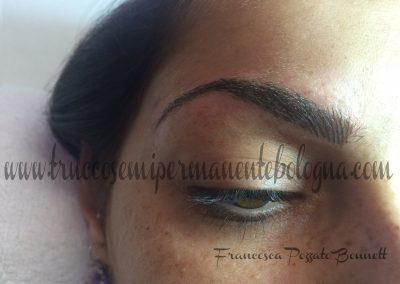 sopracciglia tatuate bologna permanent make up piercing titanio